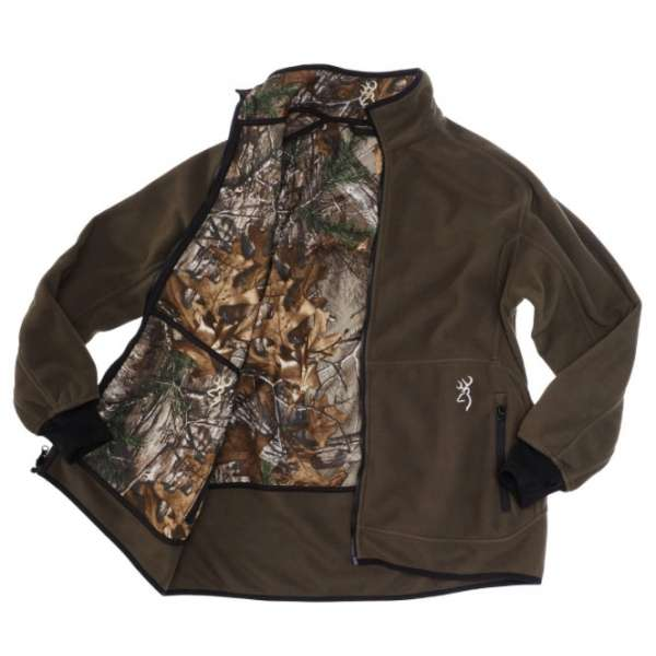 Browning powerfleece reversible
